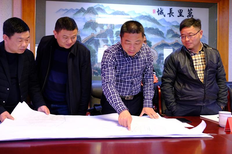 朱平波调度城市污水管网建设
