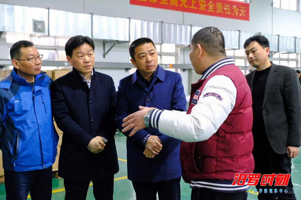 朱平波调度产业项目建设年工作