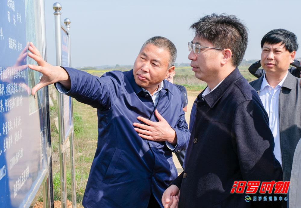 唐文发:将汨罗河长制工作经验推广到平江