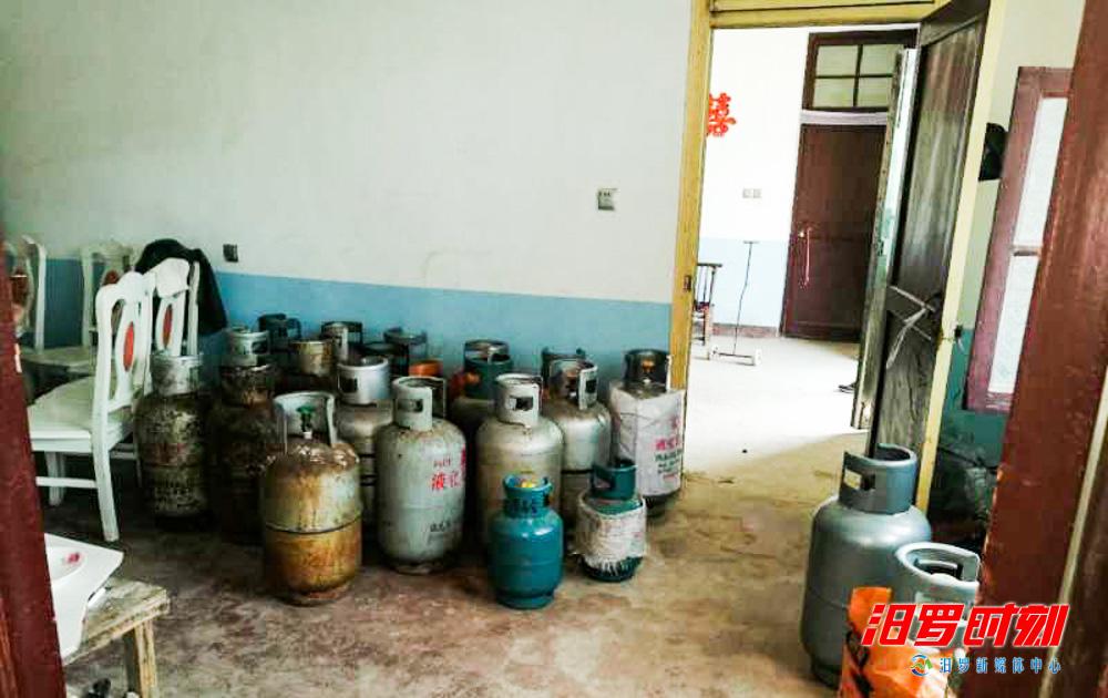 非法储存销售液化气39罐,长乐一村民被行政拘留5日