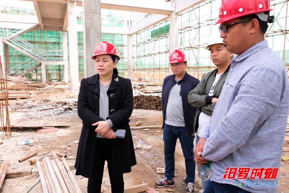 汨罗粽子产业园预计6月前完成一期厂房主体工程