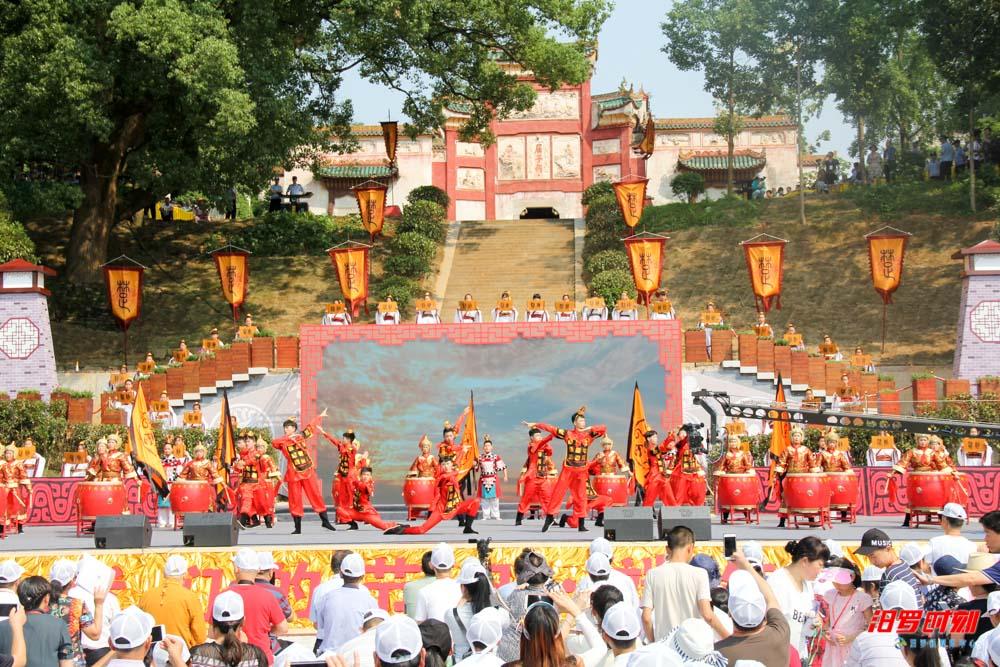 端午汨罗|汨罗龙舟节,一场楚韵浓郁的视听盛宴