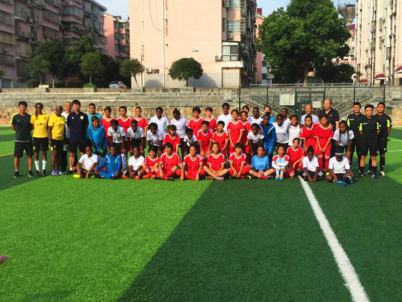 棒棒哒! 汨罗体校女子足球队八月代表岳阳参赛省运会