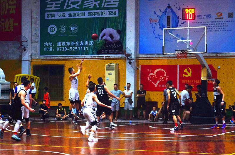 2018汨罗市业余篮球俱乐部联赛 落幕,因趣科技兄弟联队夺冠