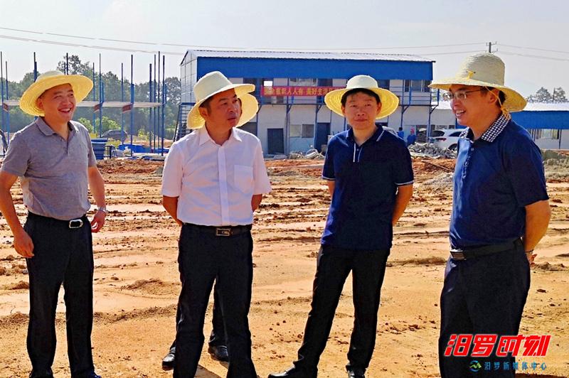 朱平波调度循环经济产业园建设