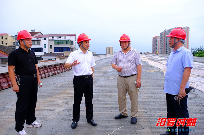 朱平波带队检查安全生产、督导河长制等工作
