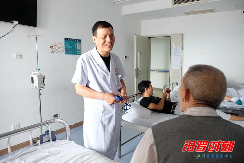 坐诊26年,医师朱绪坤与汨罗的不了情