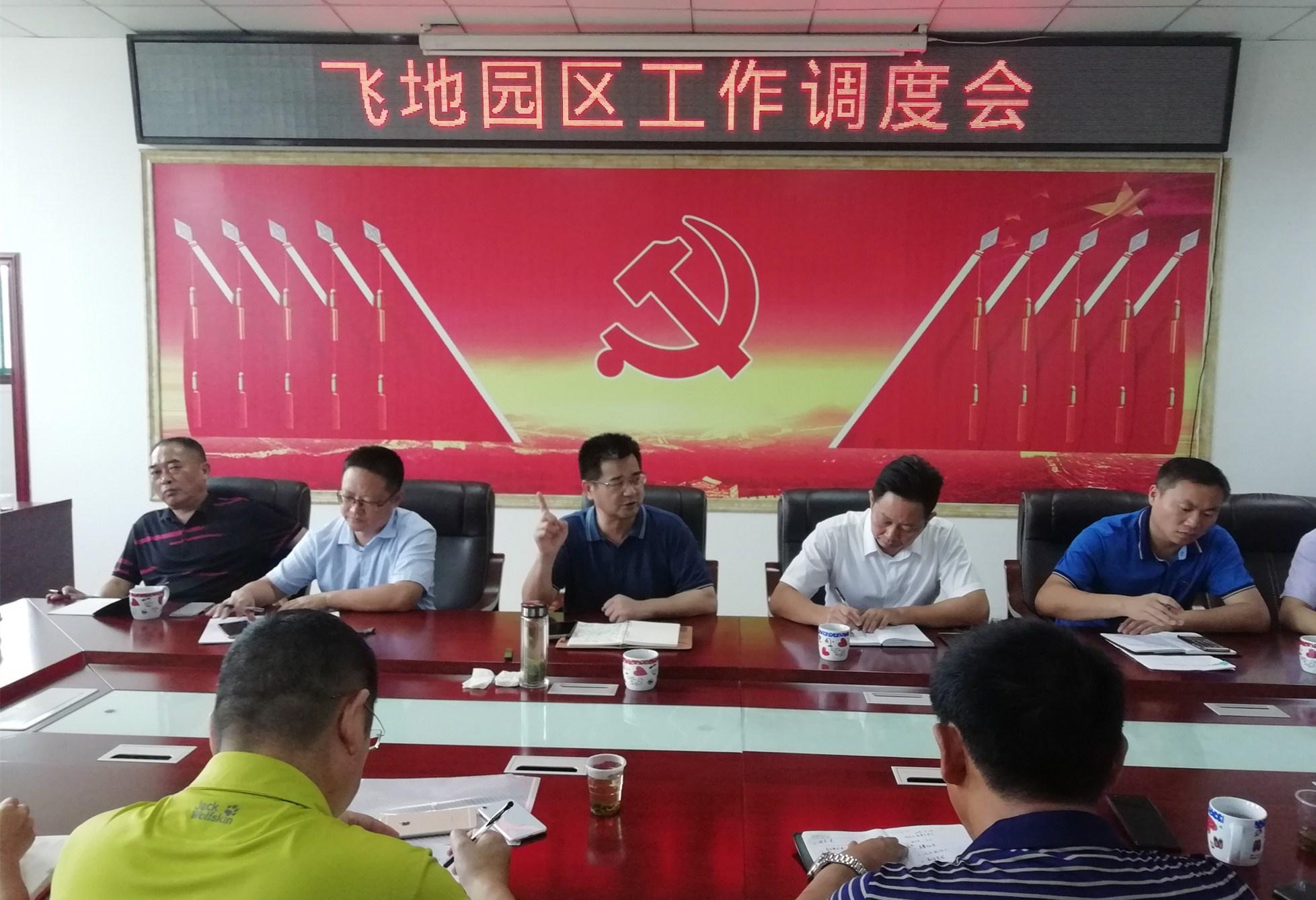 """徐新楚调研""""飞地""""产业园项目建设"""