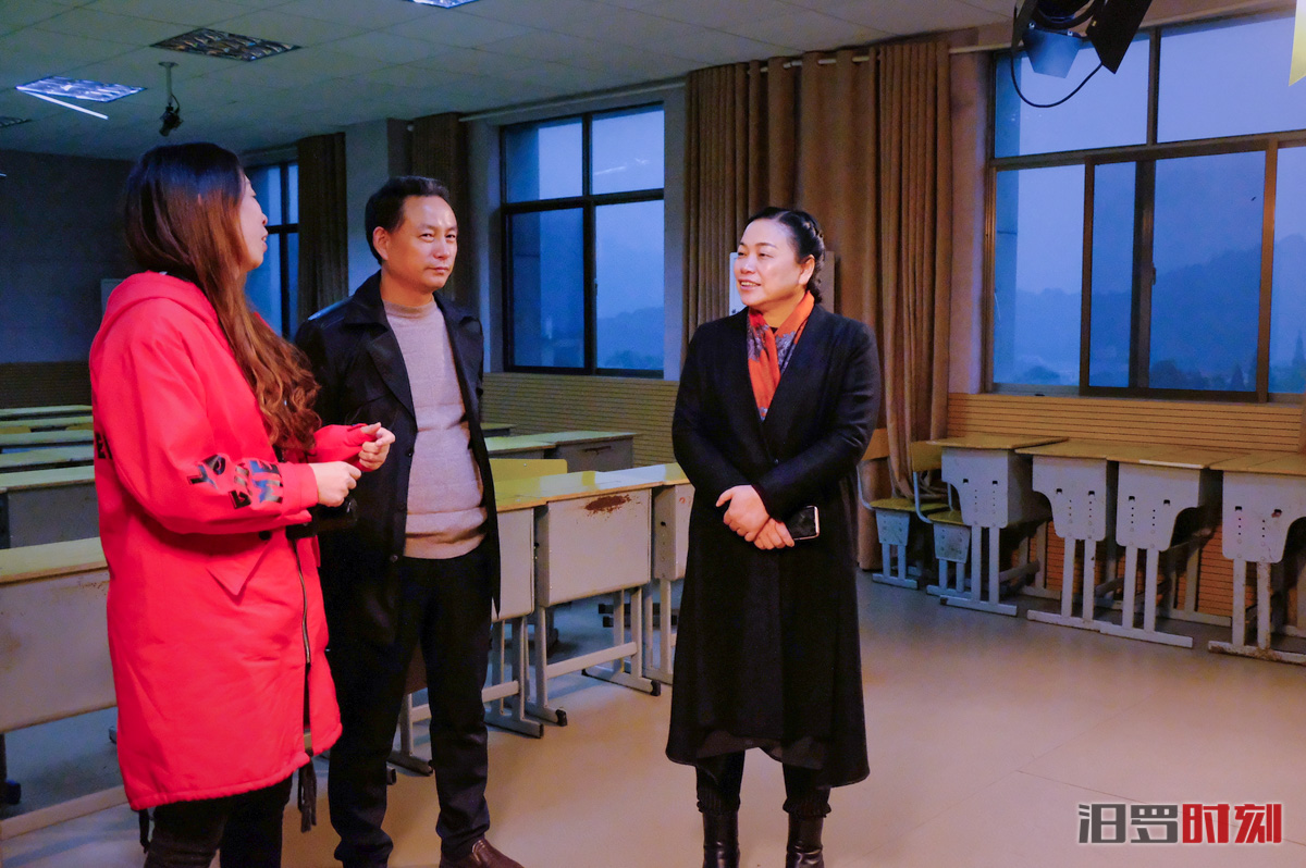 意识形态教育进校园,王敏求到市职业中专调研