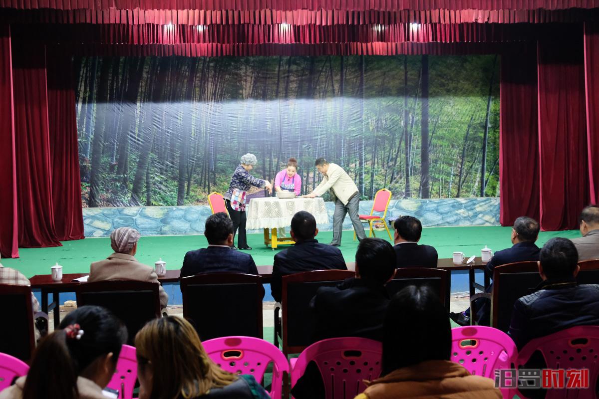 让戏曲扎根乡村!省文化和旅游厅来汨调研戏曲进乡村工作